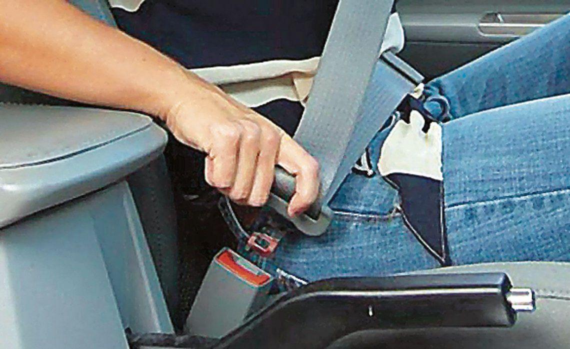 """d""""La eficacia del cinturón de seguridad es una verdad científicamente demostrada"""""""