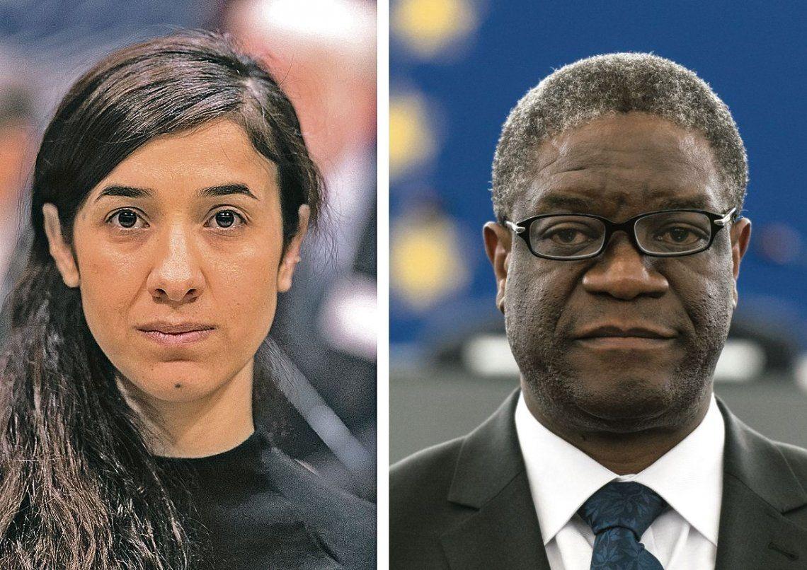 dNadia Murad y Denis Mukwege dedicaron el premio a las cientos de miles de víctimas.