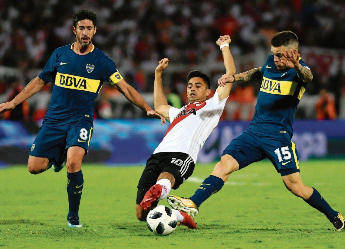 Boca y River en la final de este año de la Supercopa Argentina. Una final de Libertadores sería potencialmente mucho más trascendente.