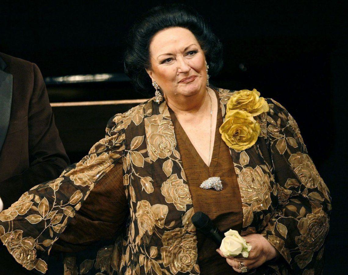 Murió la reconocida soprano española Montserrat Caballé