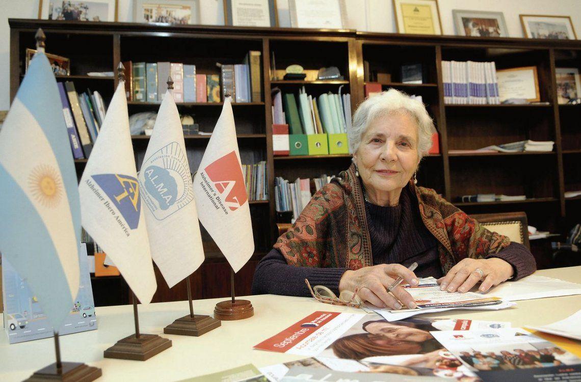dAna Bosio en su fundación ALMA