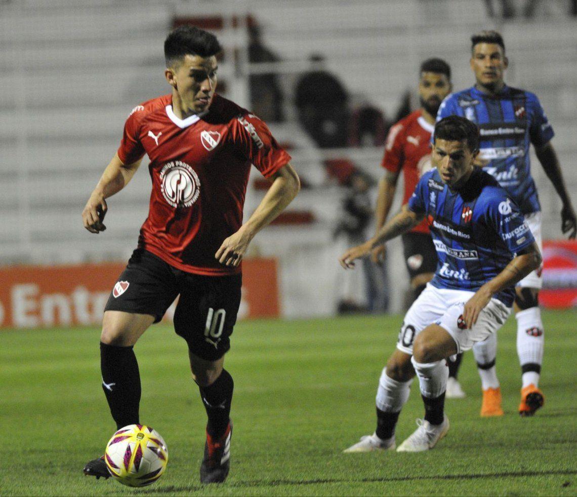 Independiente se hizo fuerte en la desgracia y venció a Patronato