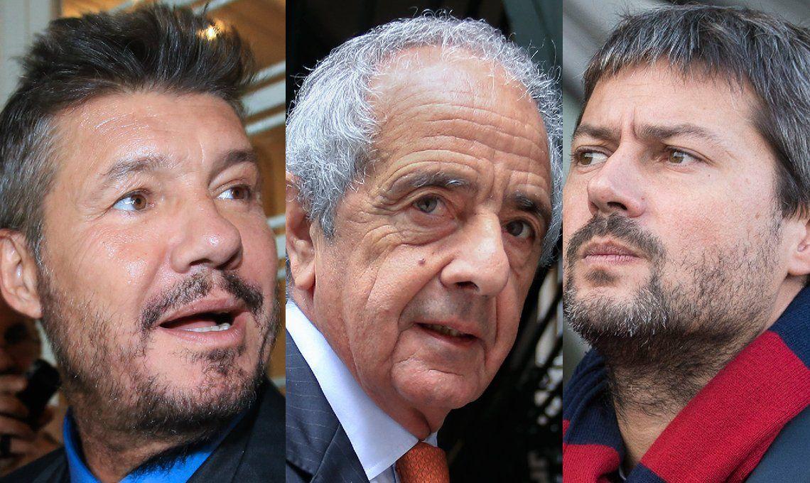 Tinelli, D'Onofrio y Lammens ya piensan en la política
