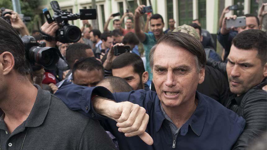 Votaron los máximos candidatos y Bolsonaro se ve triunfador
