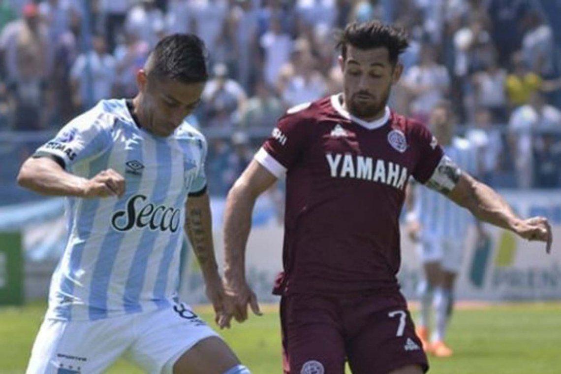 Atlético Tucumán y Lanús: pobre empate 0 a 0