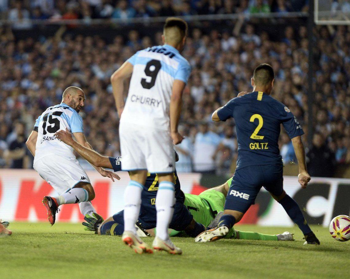 Partidazo: Racing no supo liquidarlo y Boca le arrancó un empate inesperado