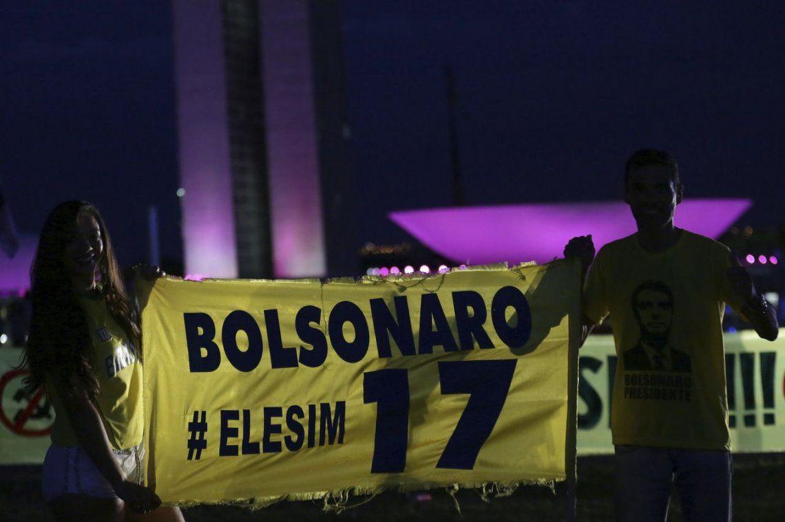 Bolsonaro fue el más votado por los brasileños que viven en Argentina
