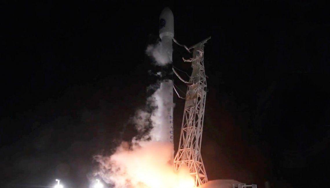 Lanzaron el Saocom 1A, un nuevo satélite argentino en el espacio