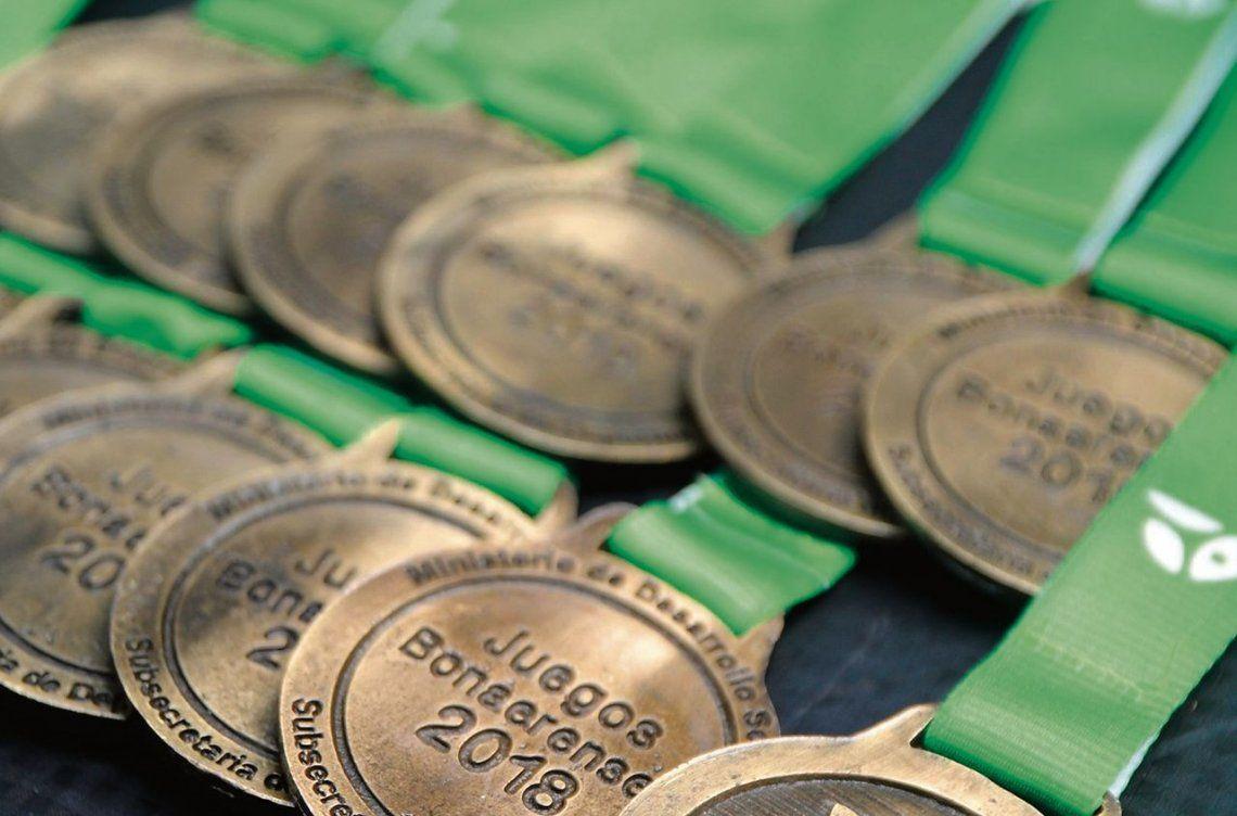 dLas delegaciones de la región cosecharon un total de 117 medallas.