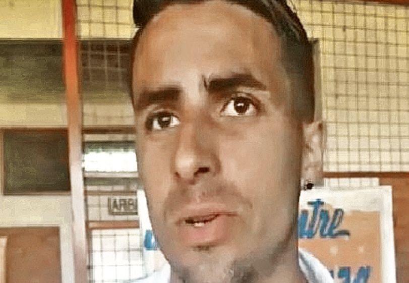 dGermán Díaz volvió al ruedo en el Naranja.