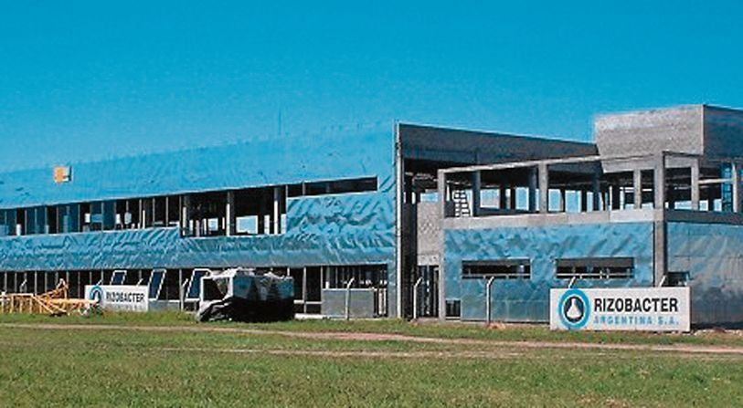 dLa empresa de agroquímicos Rizobacter SA está ubicada en Pergamino.