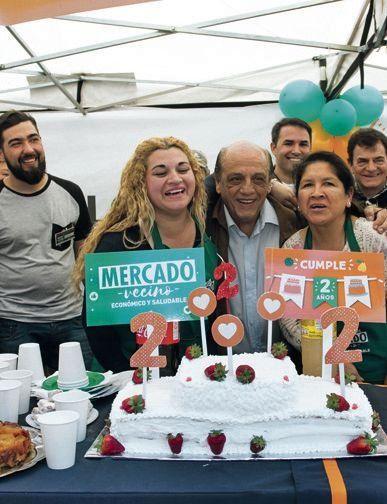 SEGUNDO ANIVERSARIO DE MERCADO VECINO