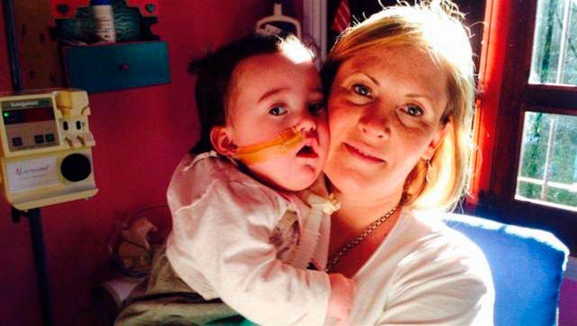 Morón: una extensa lucha de una madre por la salud de su hija