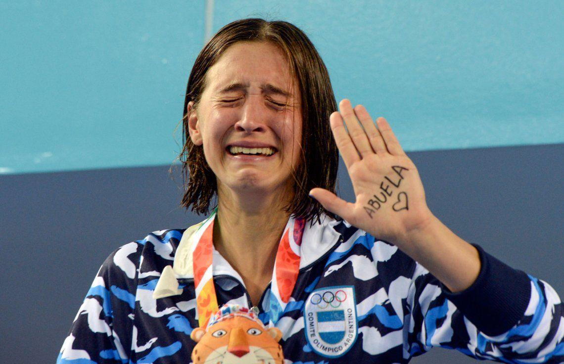 Delfina Pignatiello, la joya argentina en los Juegos Olímpicos