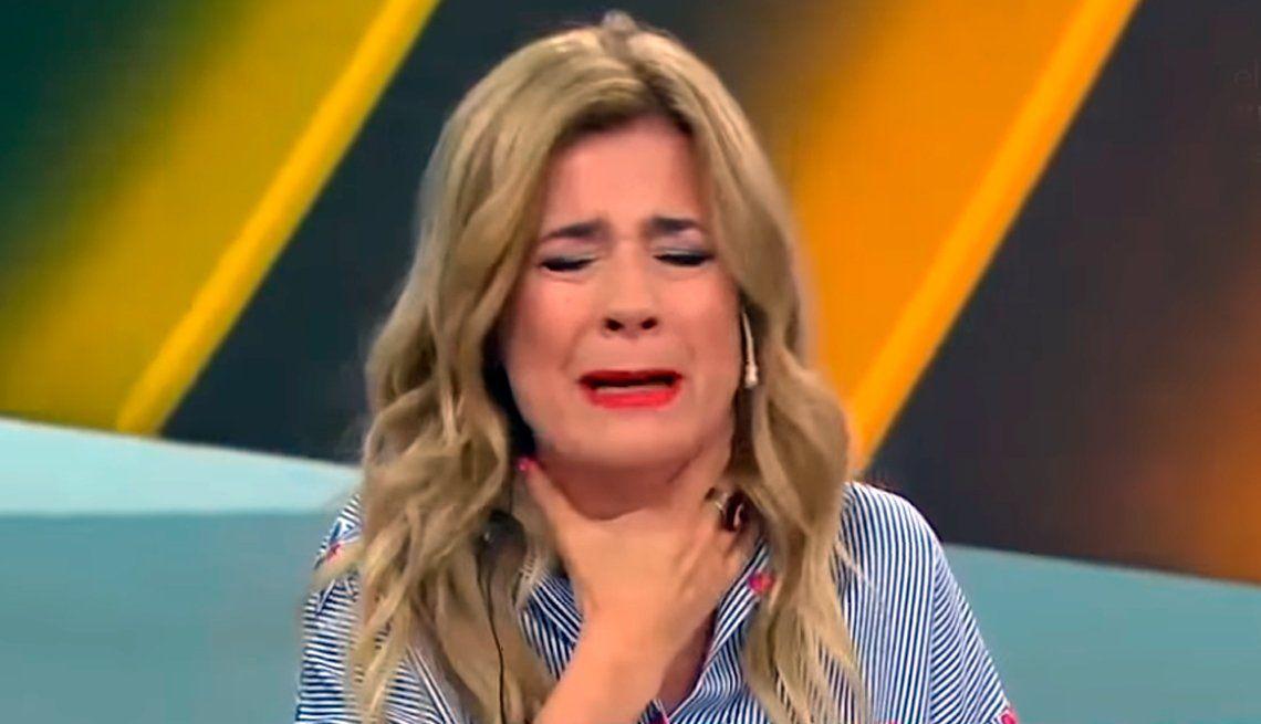 Mercedes Ninci quebró en llanto en vivo por la inflación: No nos alcanza la plata