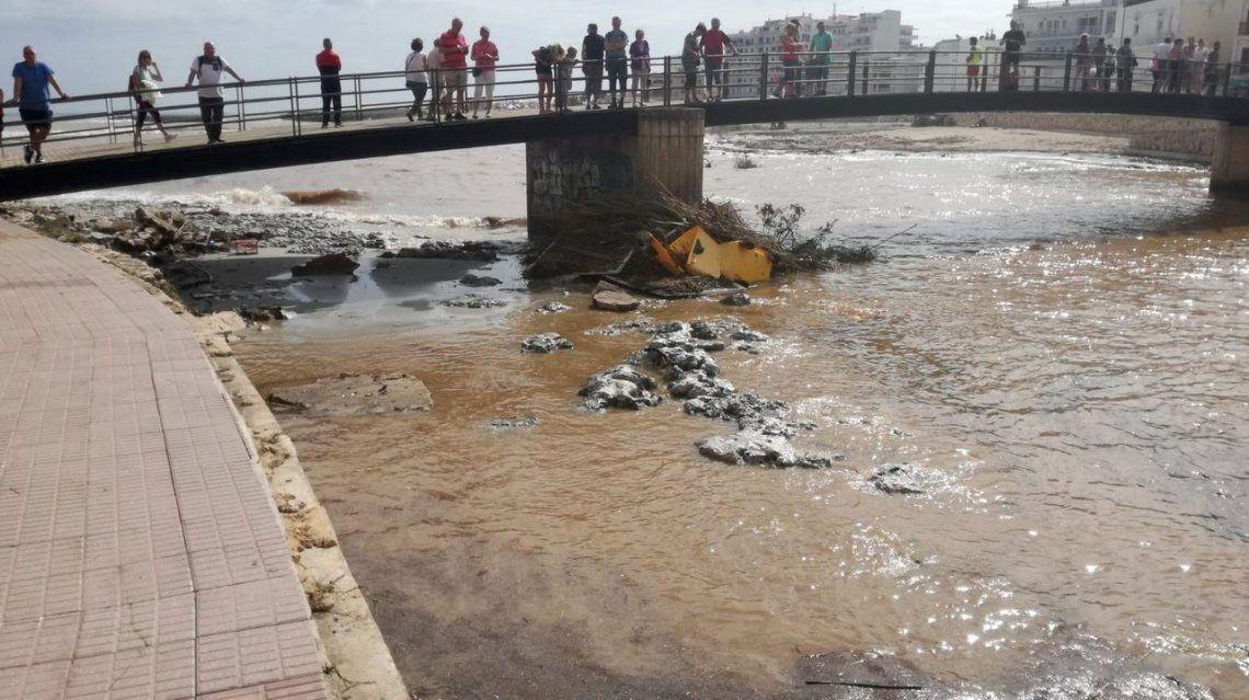 Impactantes fotos de las inundaciones en Mallorca
