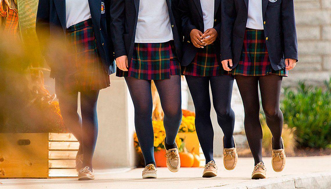 Escuela de Pilar quiere prohibir polleras para evitar tentaciones