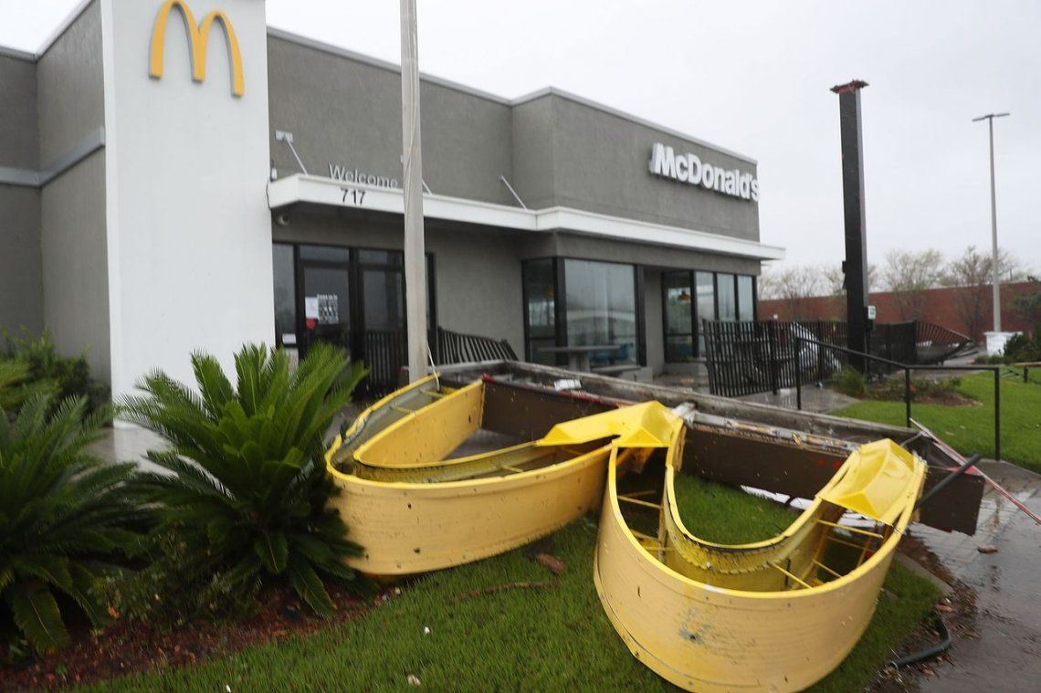 Las fotos más impactantes del paso del huracán Michael por La Florida