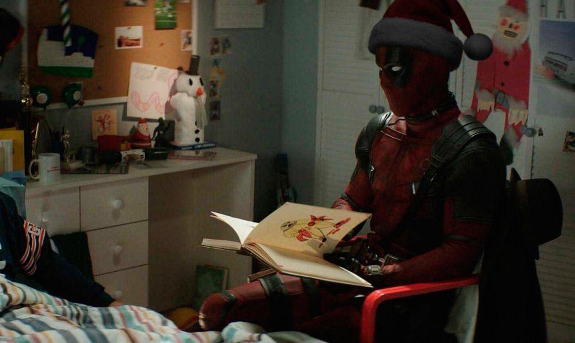 ¿Qué veremos en la versión navideña de Deadpool 2?