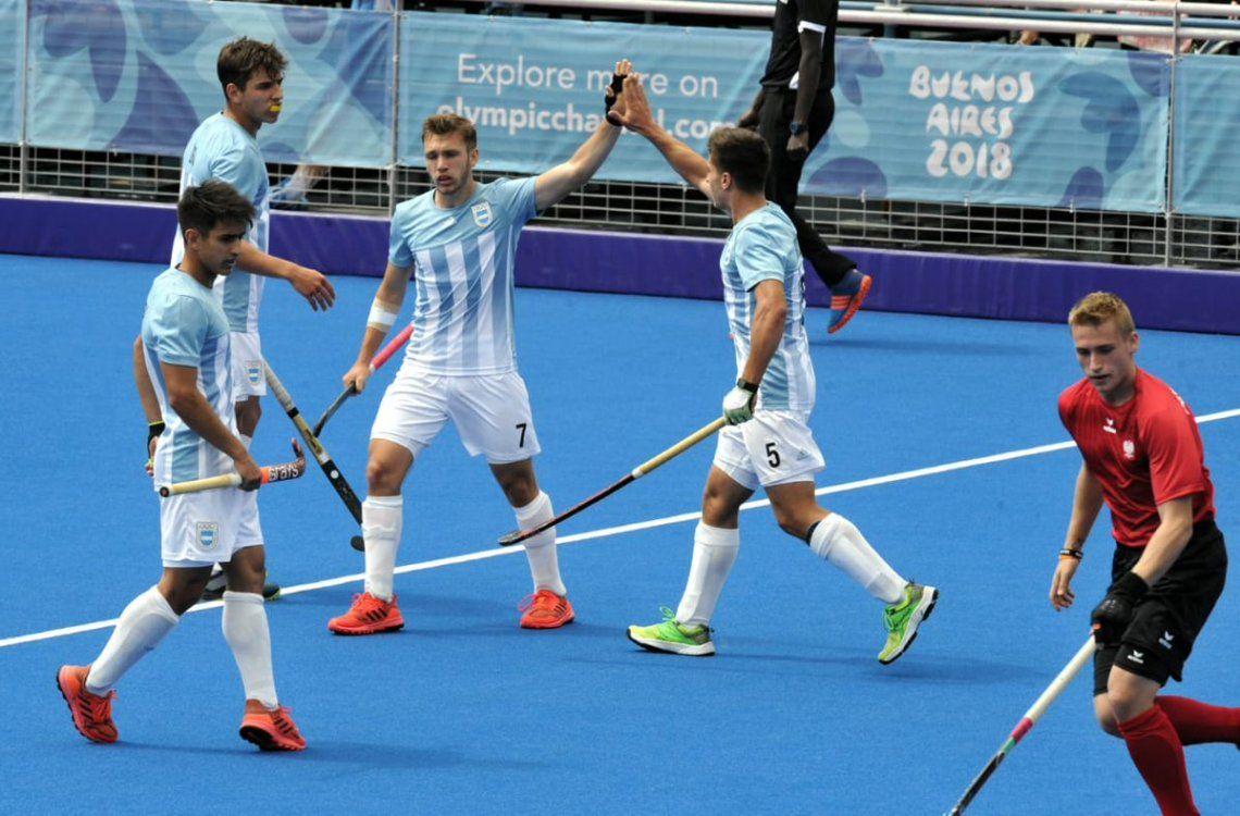 Con aporte de Berazategui, los Leoncitos ganaron el partido clave en hockey
