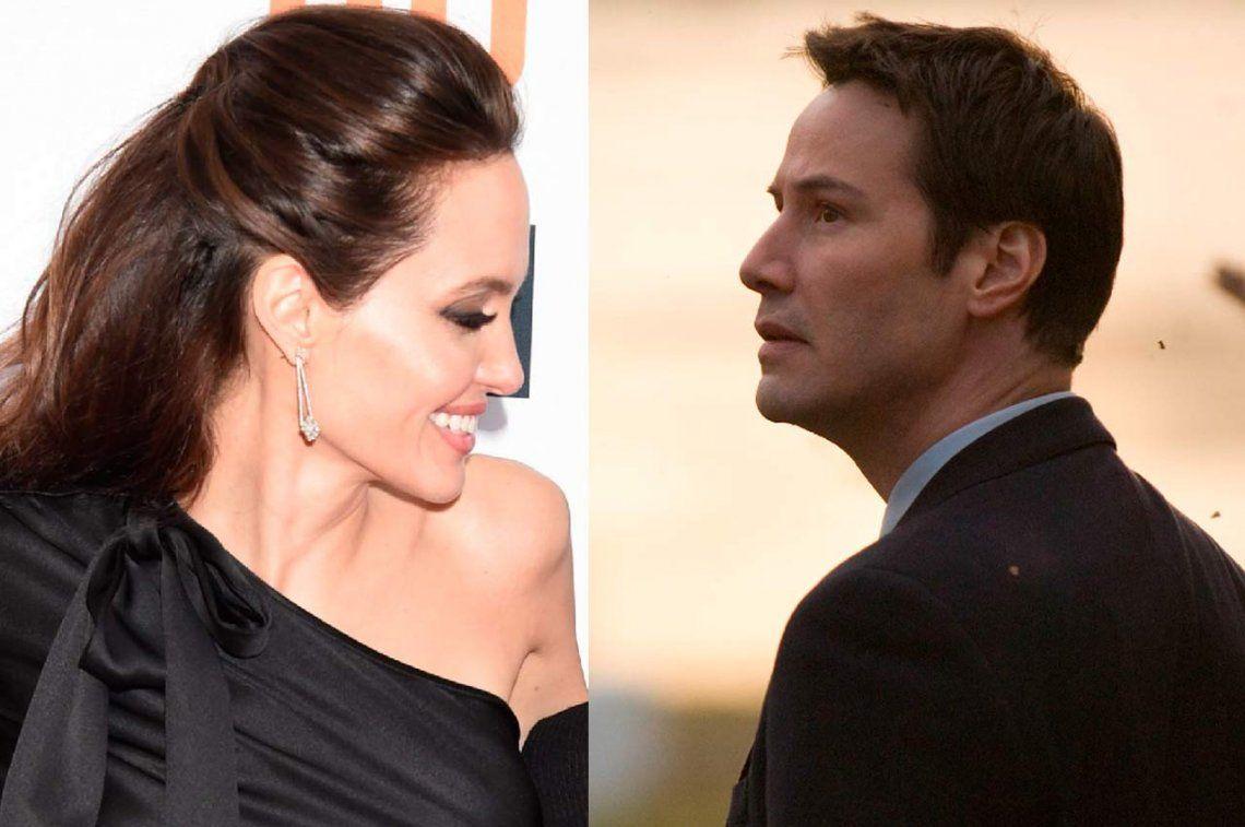 ¿Son pareja Angelina Jolie y Keanu Reeves?
