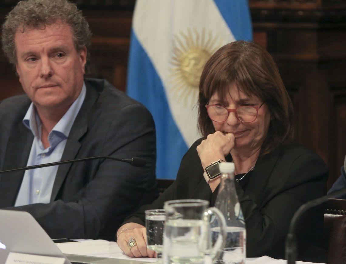 Patricia Bullrich a Mónica Macha: Usted me lo acusa a Tagliaferro de ser ex marido de Vidal y usted está casada con Sabbatella