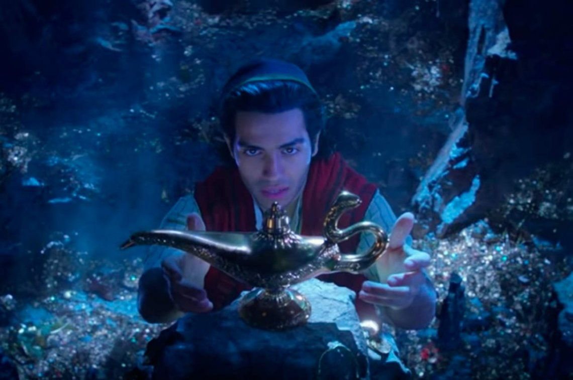 Disney estrenó el primer tráiler de su versión con actores de Aladdín