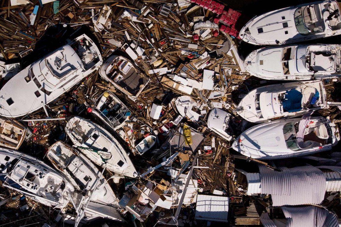 Los destrozos ocasionados por el Huracán Michael