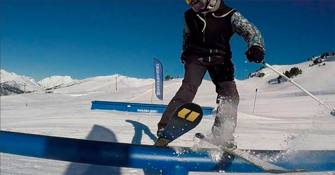 Esquel: joven esquiador cayó mal en un salto y murió