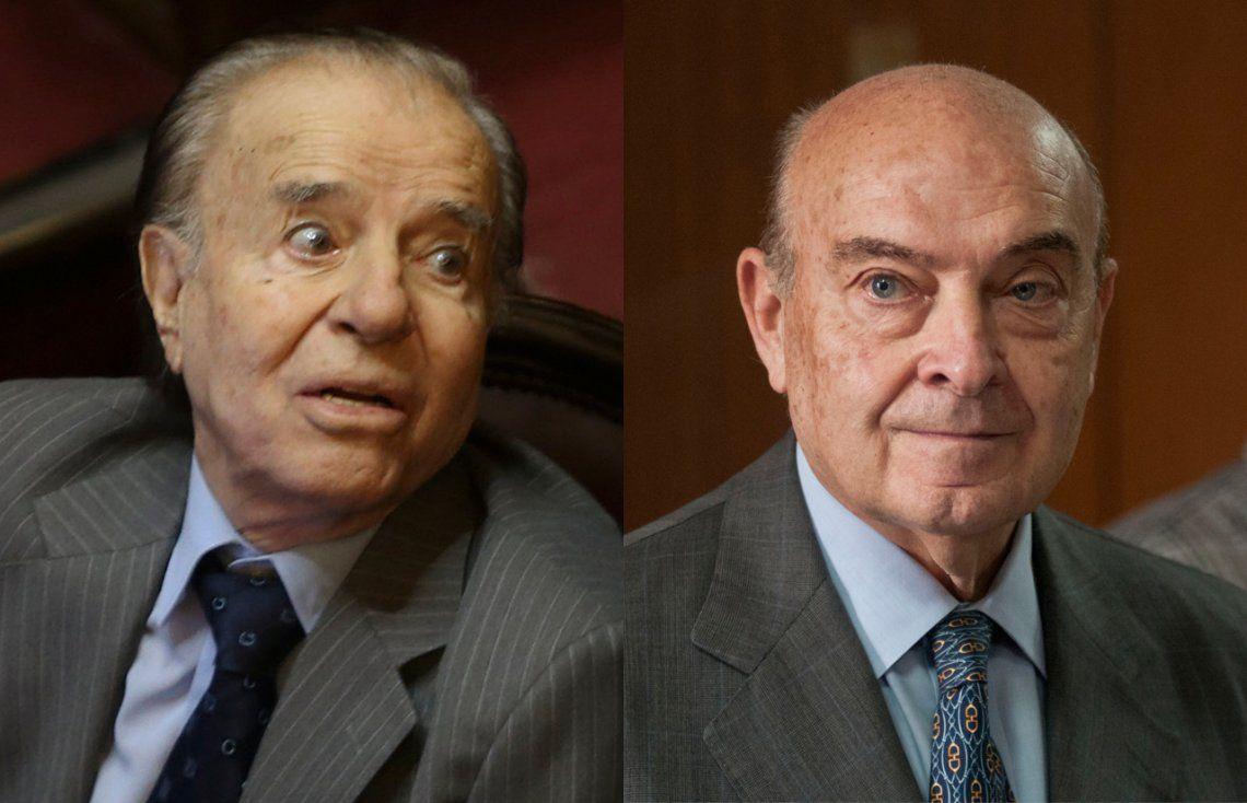 Ratificaron la condena de Menem y Cavallo por el pago de sobresueldos