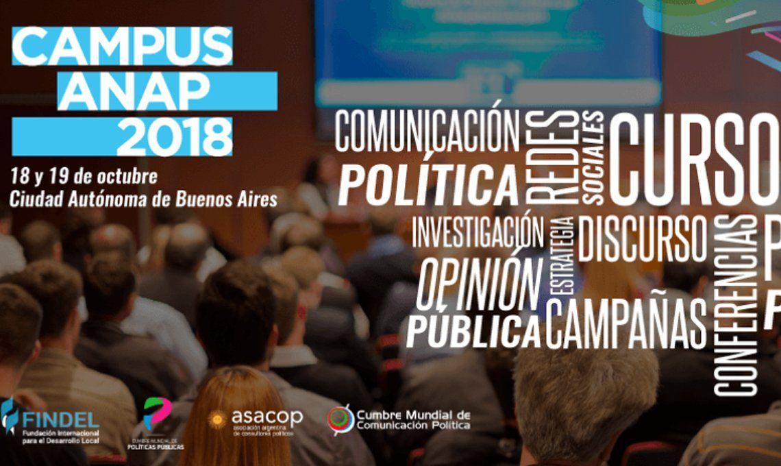 Campus Anap 2018: formación profesional para la política