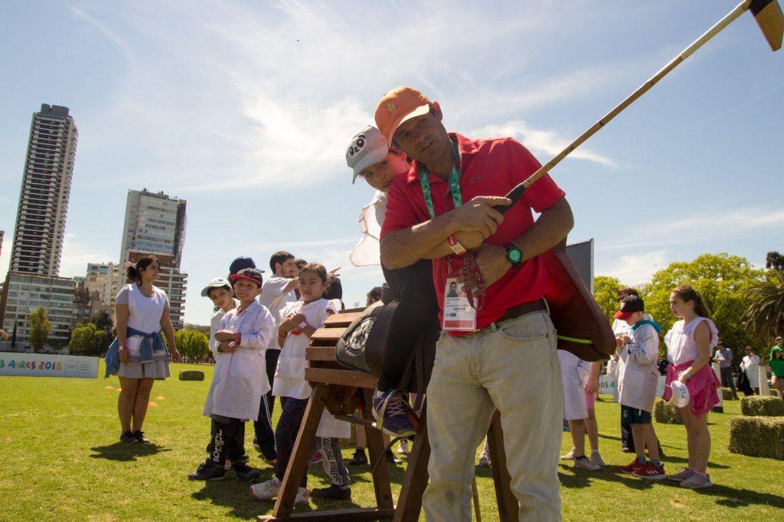 Buenos Aires 2018: se realizó una exhibición de polo en el marco de los Juegos de la Juventud