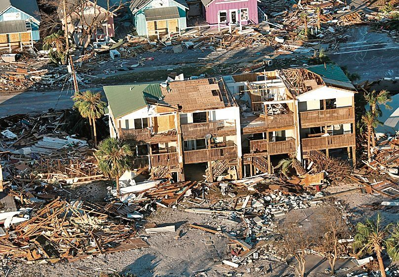 Sube a 11 la cifra de víctimas fatales por el huracán Michael