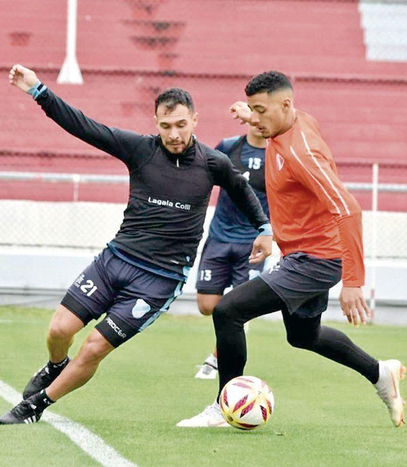 Lucas Mancinelli y Carlos Benvídez