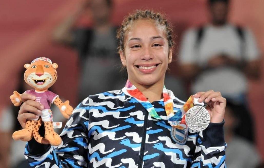 Linda Machuca, una nueva medalla de plata para la Argentina