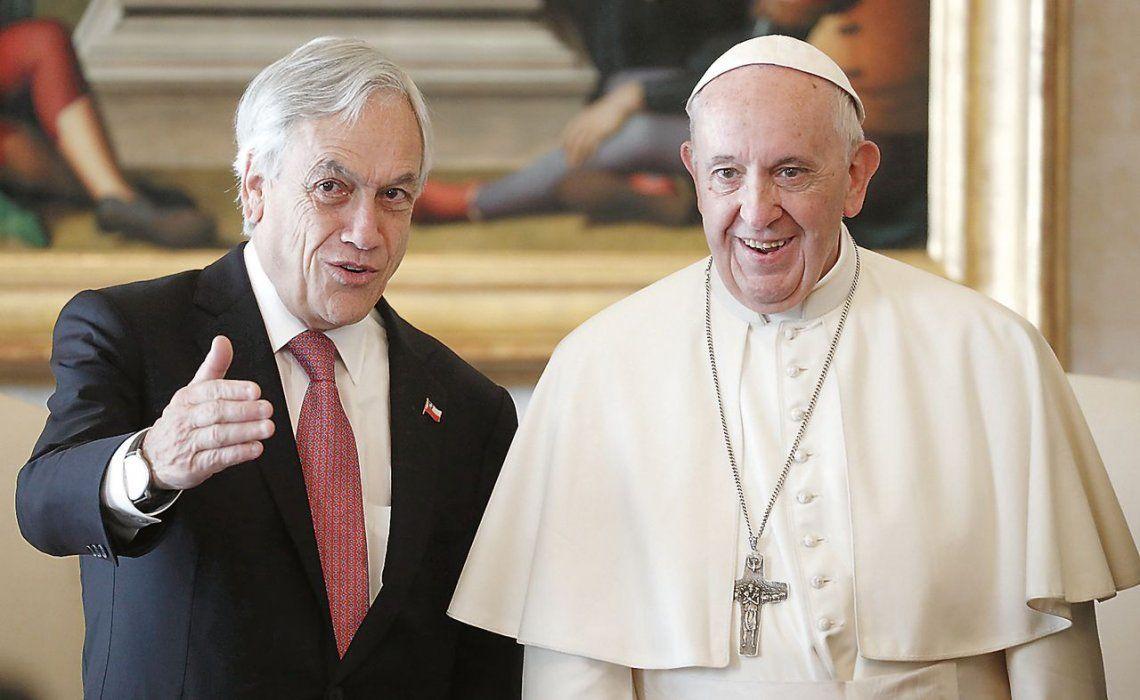"""d""""Conversamos sobre la situación difícil que vive en este momento la Iglesia en Chile"""""""