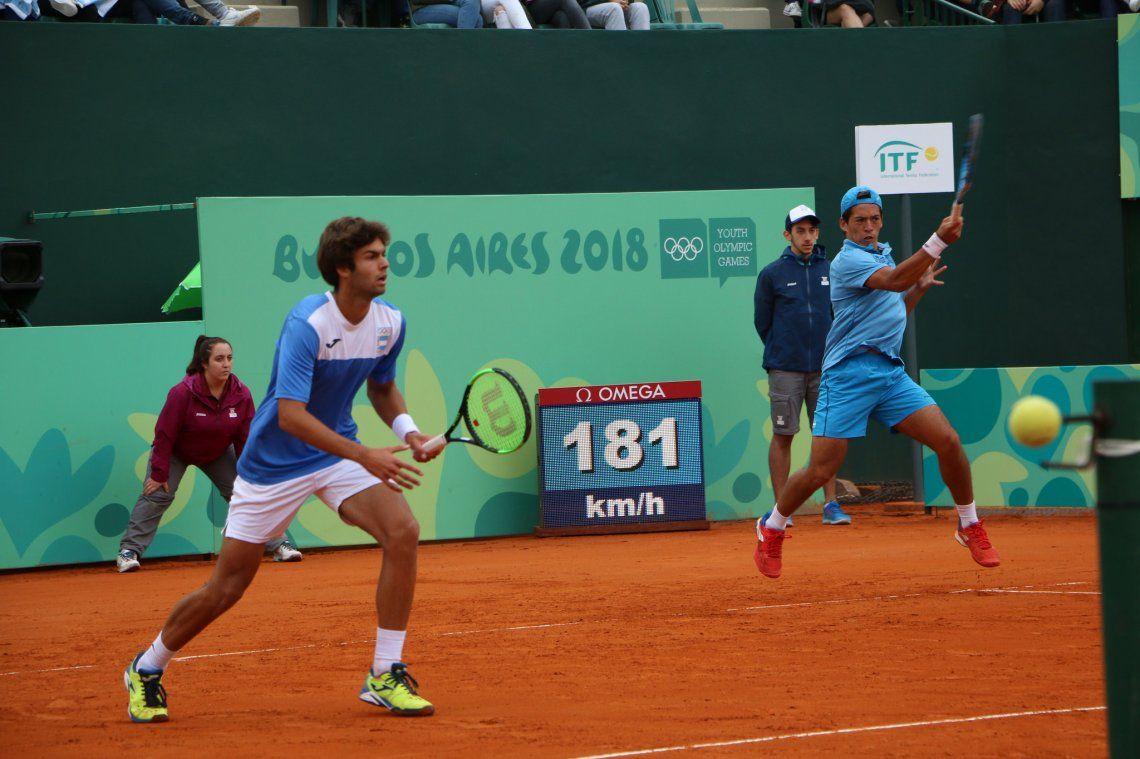 El dobles en tenis obtuvo la medalla de oro en Buenos Aires 2018
