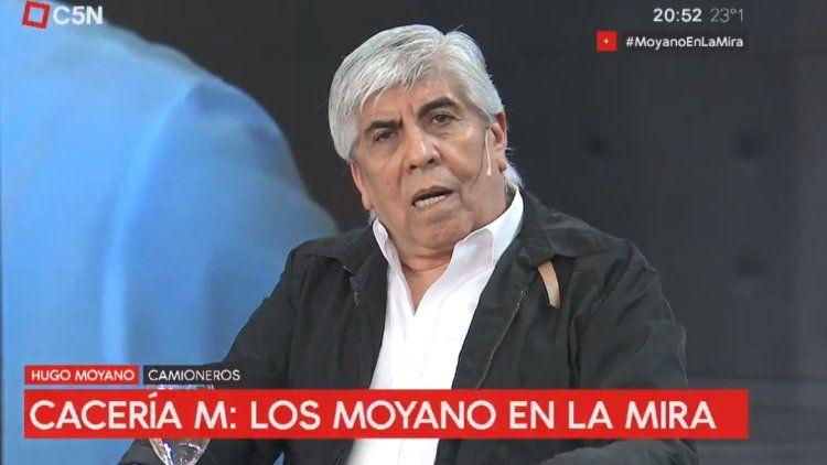 Hugo Moyano: No nos van a venir a patotear