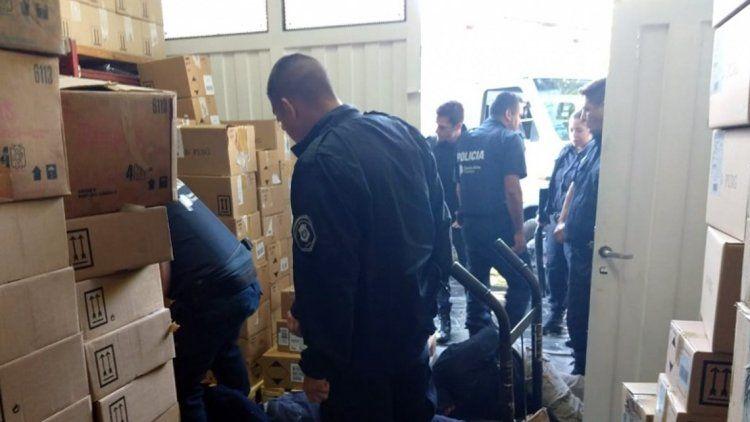 Quilmes: robaban una perfumería y los pescaron in fraganti