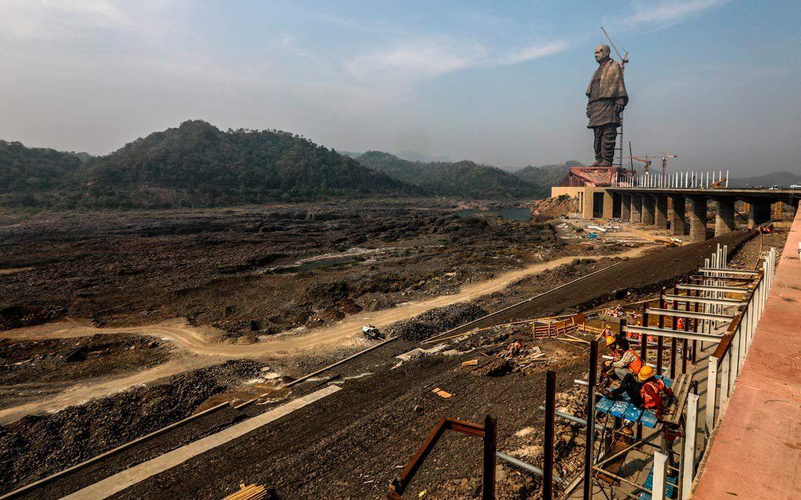 India inaugurará a fin de mes la estatua más alta del mundo