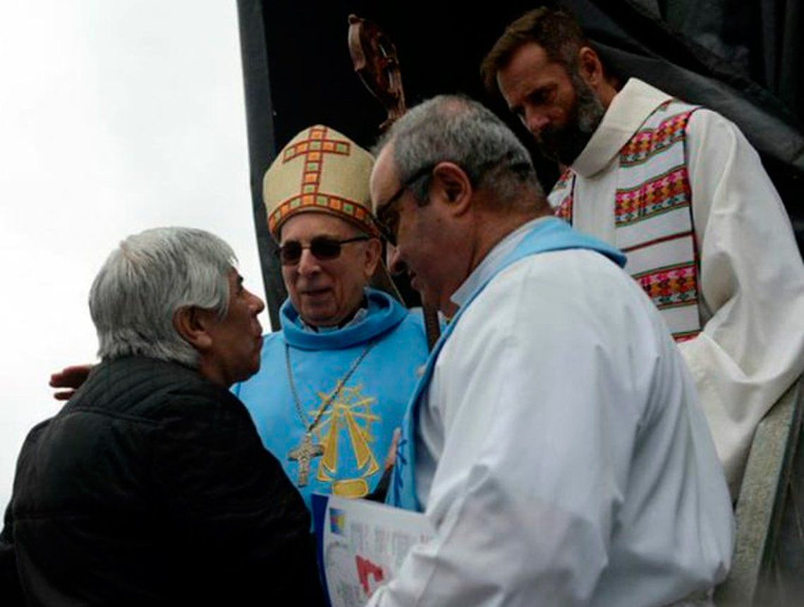 El obispo de Luján pidió perdón por la misa con gremialistas