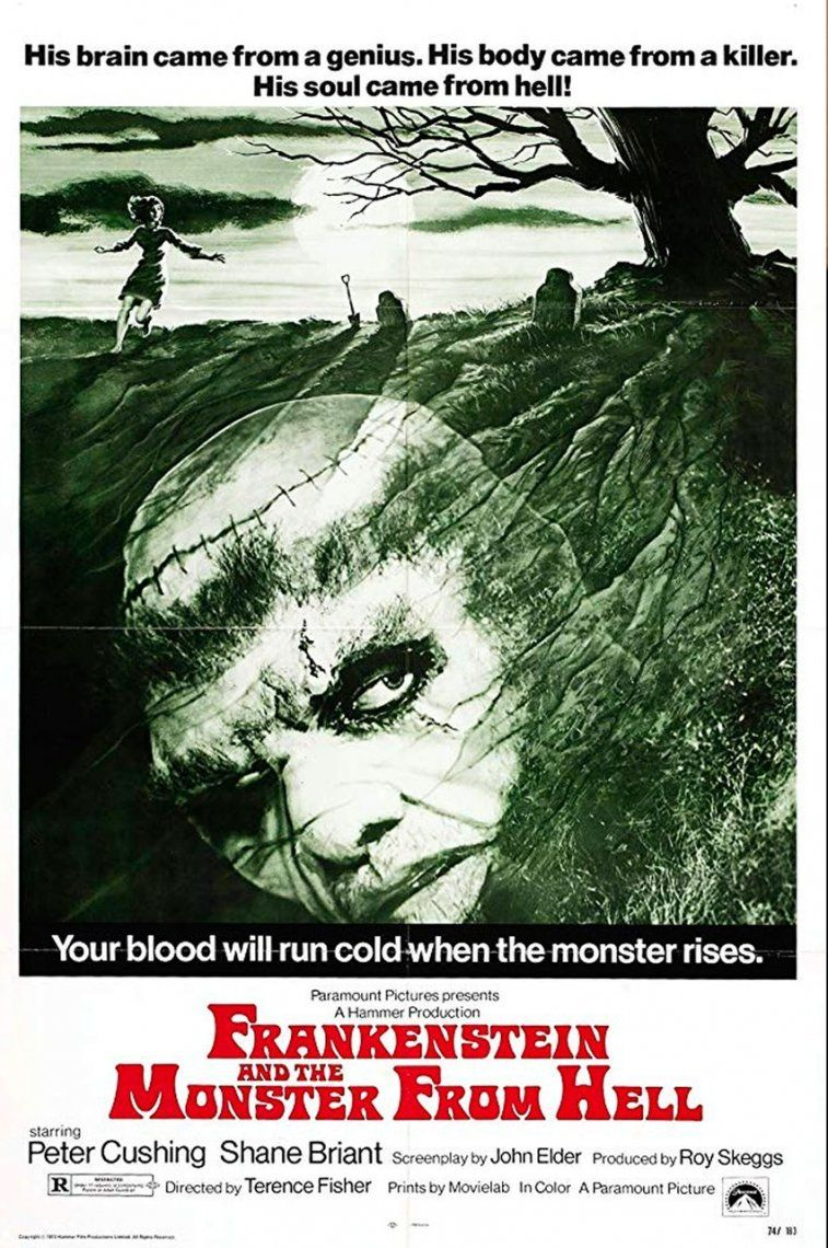 44. Frankenstein and the Monster from Hell | 1974 | Terence Fisher