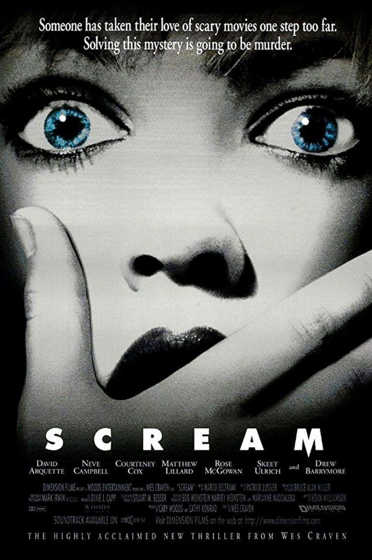 34. Scream | 1996 | Wes Craven