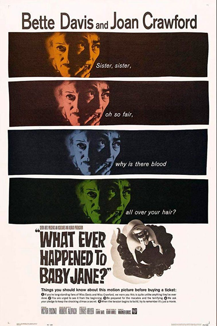 30. What Ever Happened to Baby Jane? | 1962 | Robert Aldrich