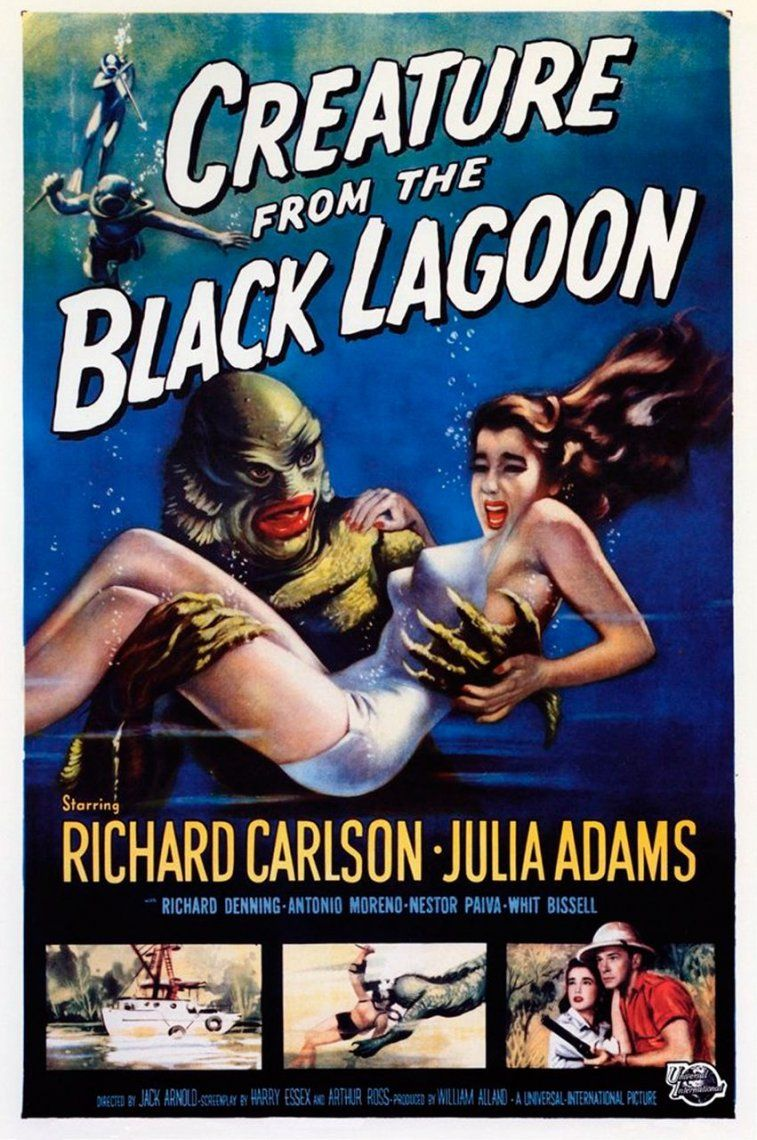 25. Creature from the Black Lagoon | 1954 | Jack Arnold