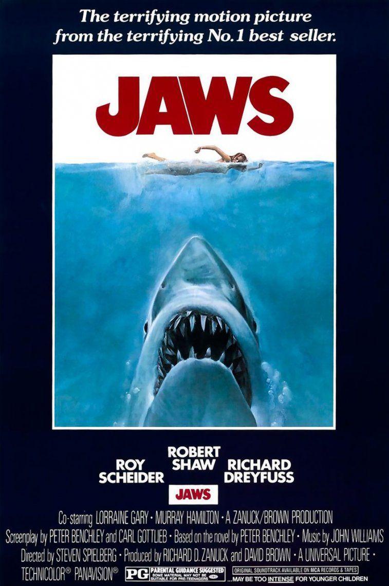 24. Jaws | 1975 | Steven Spielerg