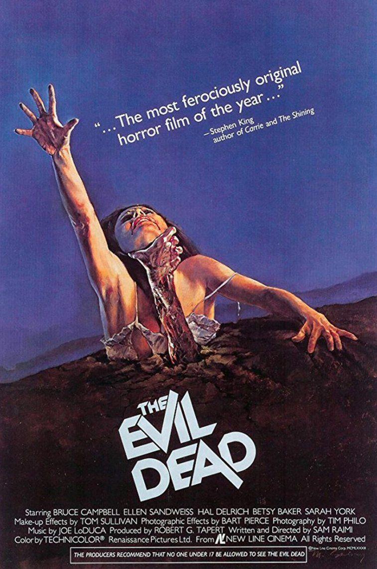 16. The Evil Dead | 1981 | Sam Raimi