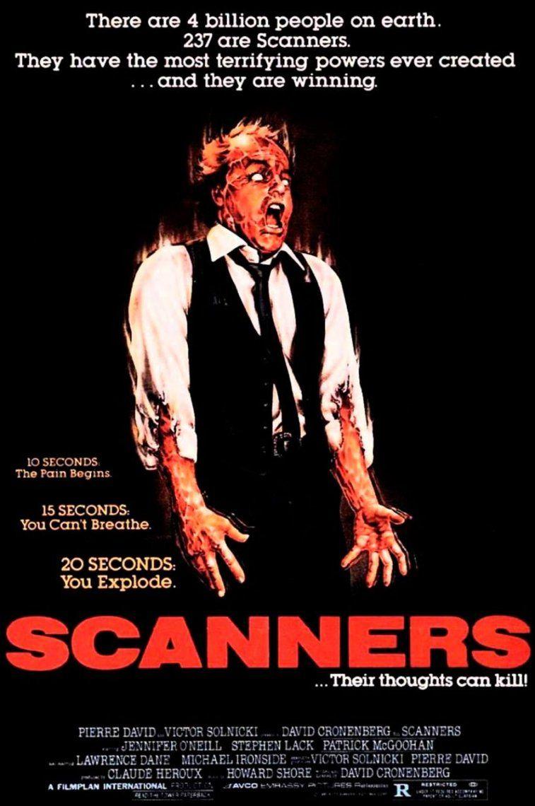 15. Scanners | 1981 | David Cronenberg