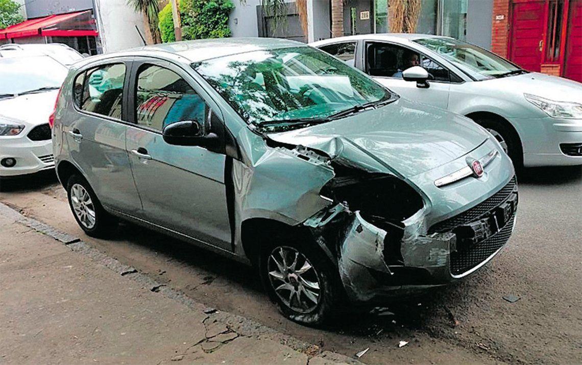 Quilmes: le dio el auto a un trapito para que lo estacione y se lo destrozó
