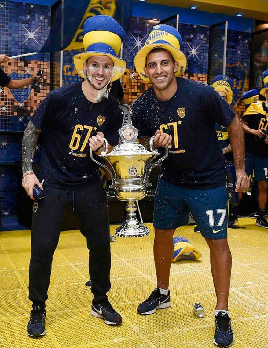 Guillermo probó con la dupla Benedetto y Abila para la Copa Libertadores